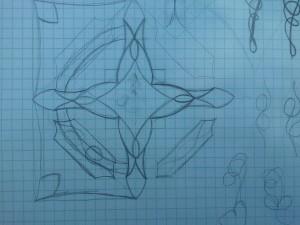 Solar Flare - Original Sketch