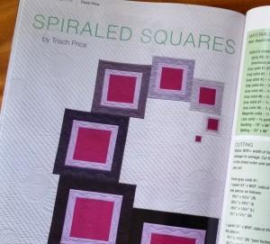 spiraled squares