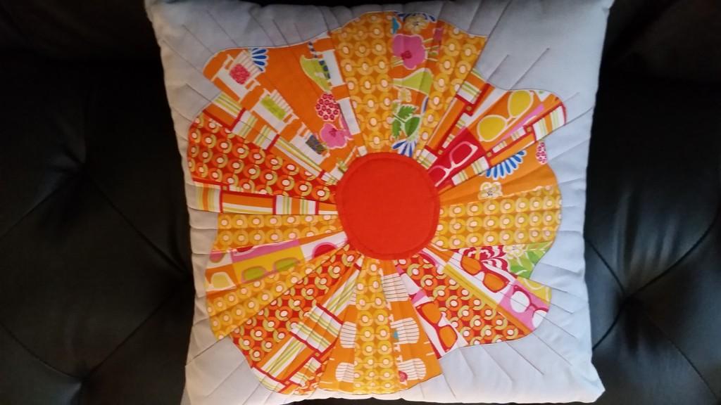sanibel pillow orange